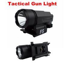 Airsoft Pistol Light Handgun Flashlight LED Rifle Gun Tactical Torch for 20mm Rail Mini White Glock 17 19 Lamp