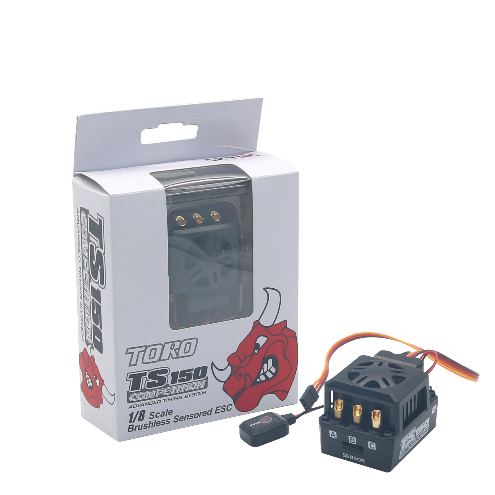 SKYRC Toro TS 150A ESC Brushless Sensored Motor ESC for 1/8  Scale RC Monster Truck Buggy Truggy original skyrc toro ts 150a brushless sensor sensorless motor esc for 1 8 rc buggy truck monster truggy free s radio control