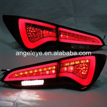 For Hyundai for Santa Fe IX45 LED Tail Lamp rear lights 2013-2014 year Red White WH