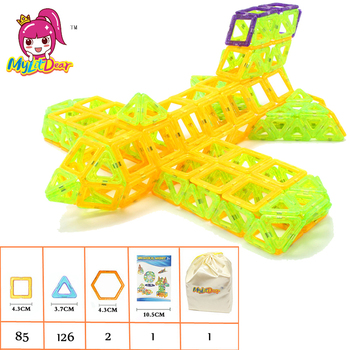 MylitDear 215pcs Mini Magnetic Blocks Brinquedos Models Building Toy Magnetic Designer Enlighten Bricks Educational Toys