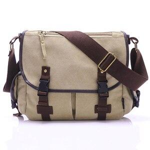 Мужская повседневная Холщовая Сумка, мужская сумка-мессенджер, мужская сумка через плечо, школьные сумки для мужчин, сумка на плечо, Bolsa ...