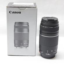 Объектив камеры Canon EF 75-300 мм F/4-5,6 III телеобъективов Canon 1300D 650D 600D 700D 800D 60D 70D 80D 200D 7D T6 T3i T5i