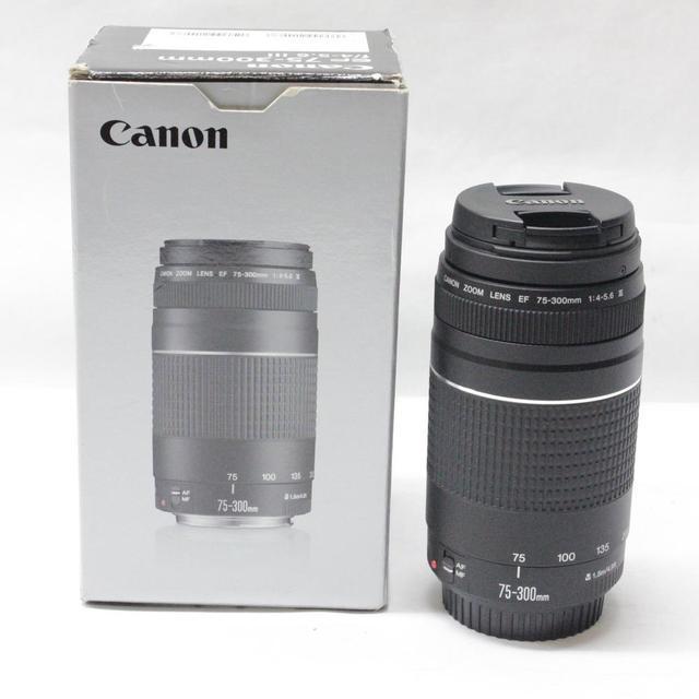 Canon camera lens EF 75 300mm F/4 5.6 III Telephoto Lenses for Canon ...