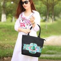 XIYUAN BRAND Chinese Style Women Handbag Embroidery Ethnic Summer Fashion Handmade Flowers Ladies Tote Cross body Shoulder Bags