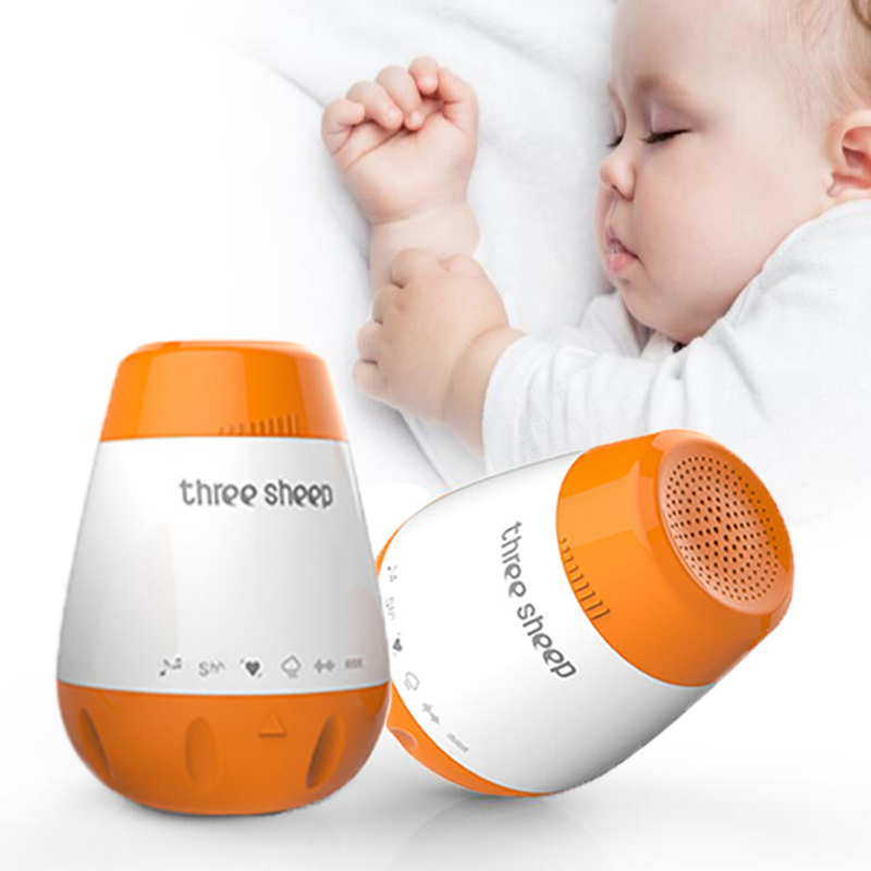 Baby Sleep Soother Machine Newbron Therapy Sound Machine White Noise Record  Voice Sensor Soothing Music Sleep Therapy Regulator