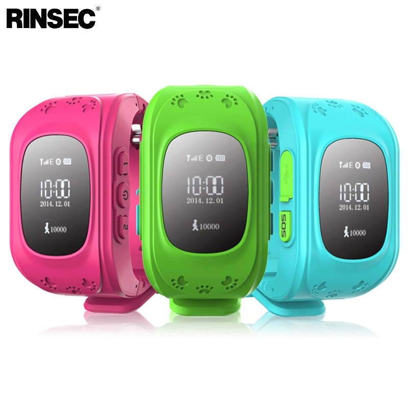 Rinsec Q50 GPS трекер Детские умные часы для детей Детская безопасность SOS вызова Расположение Finder с сим-карты слот для IOS и Android