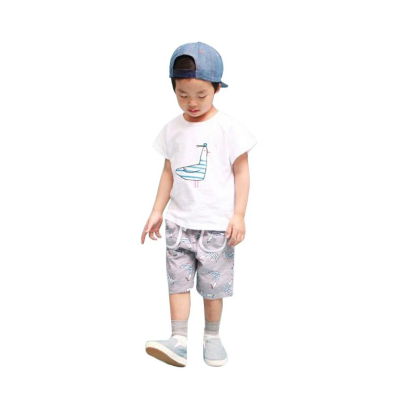 New Lovely Character Baby Kids Boys Cartoon Tops T shirts Summer Children s Clothing