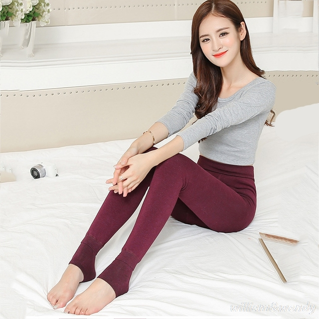 Women Thermal Winter Thermo Thick Clothing Tracksuit Layered Warm Ukraine Feminine Long Legging Velvet Fleece Push Up Underpants