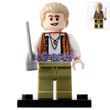 DR TONG Single Sale PG1002 Super Heroes Henry Pirates of the Caribbean DIY Brick Movie Building