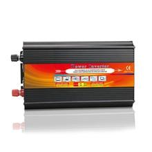 2500W Pure Sinusoidal Inverter AC 12V to DC 220V Solar photovoltaic Inverter Travel Power Supply Control 2 universal socket
