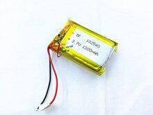 Li-bateria de Polímero Baterias para Luzes 4 Pçs e lote 102540 1300 Mah 3.7 V Recarregável de Lítio Led Lâmpadas Produtos Eletrônicos