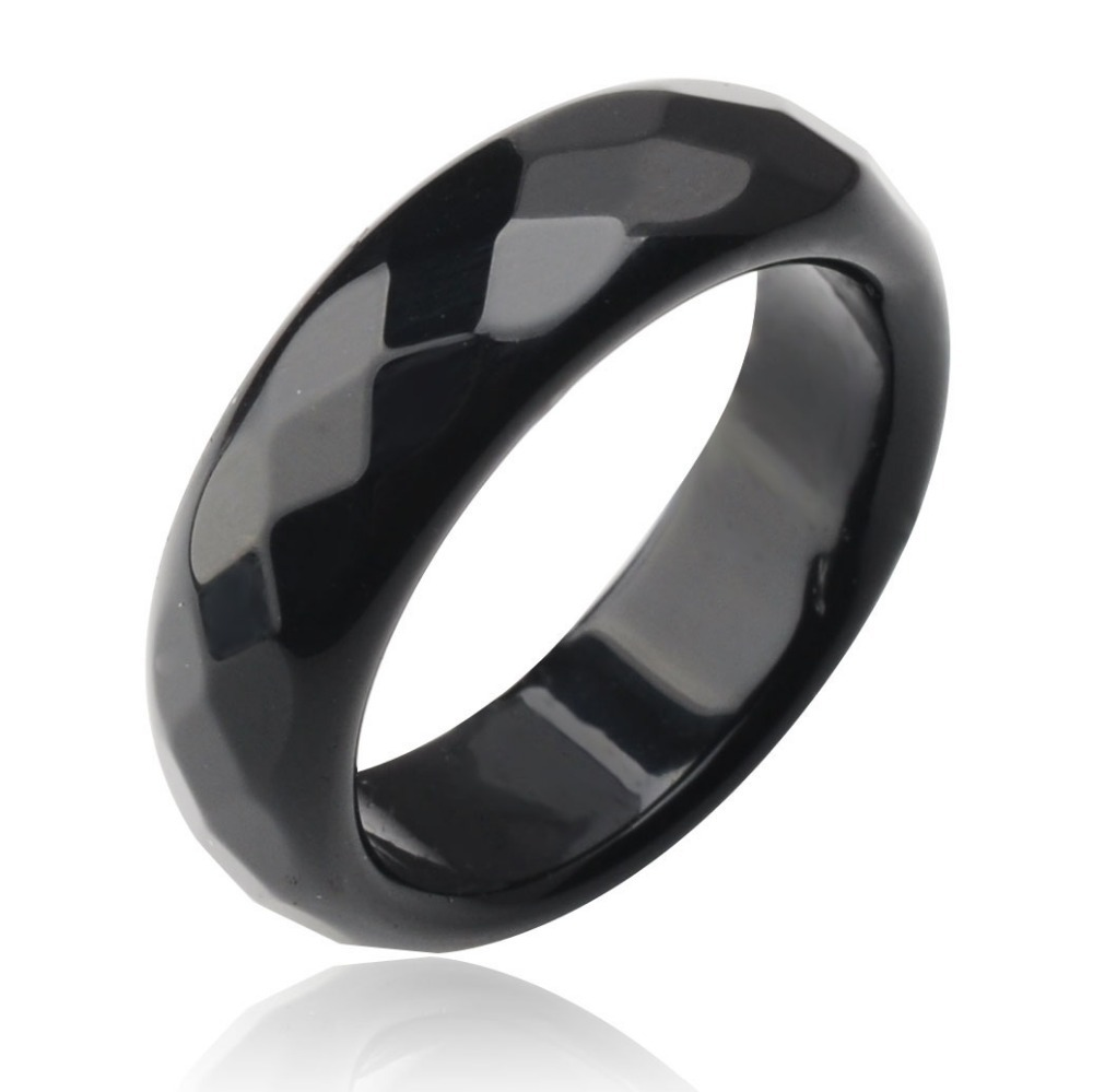 ring black rings neal bario moon back half jade