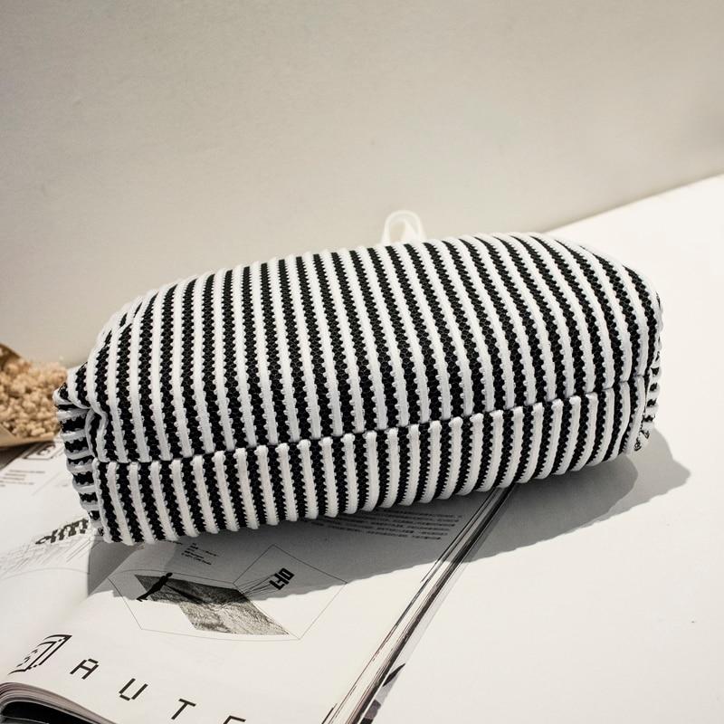 Kvaliteetne lõuend suur kottide naiste kott juhuslik käekott mood - Käekotid - Foto 5