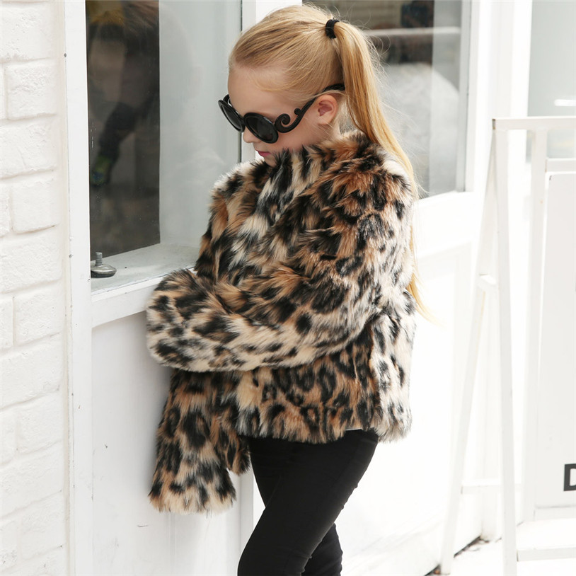 f68206556 2018 Autumn Winter Baby Girl Coats Rabbit Soft Faux Fur cloak ...