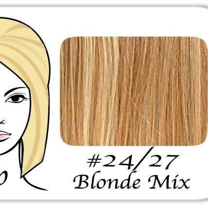 Brybelly Holdings PRPP-2427 No. 24-27 Light Blonde with Dark Golden Lowlights Pro Pump