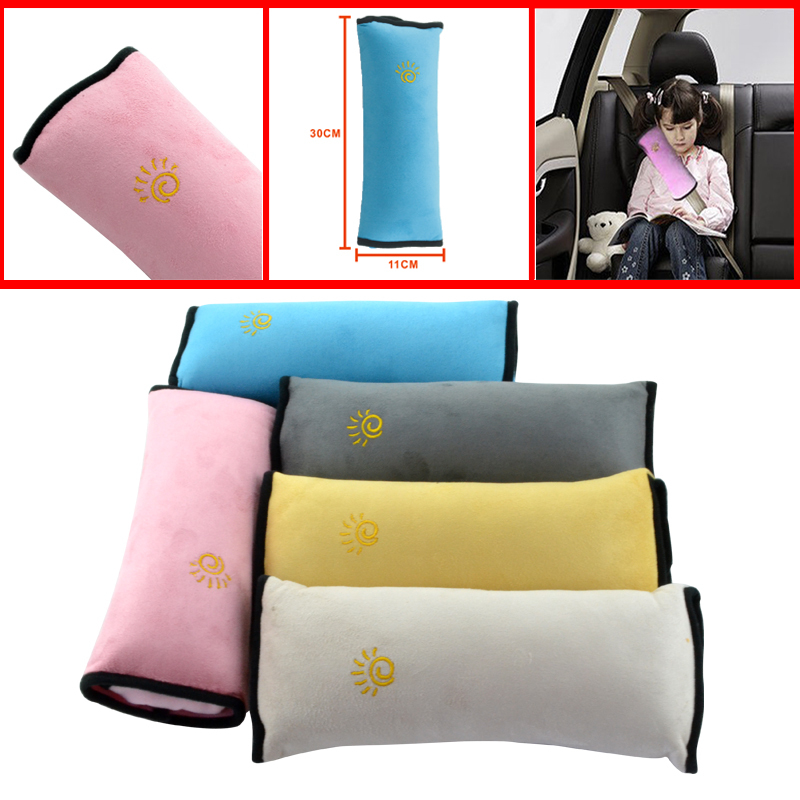Hot Auto Back Cushion Car Safety Belt For Baby Vehicle Harness Shoulder Pad Children Vehicle Seat Belt Cushion For Kids