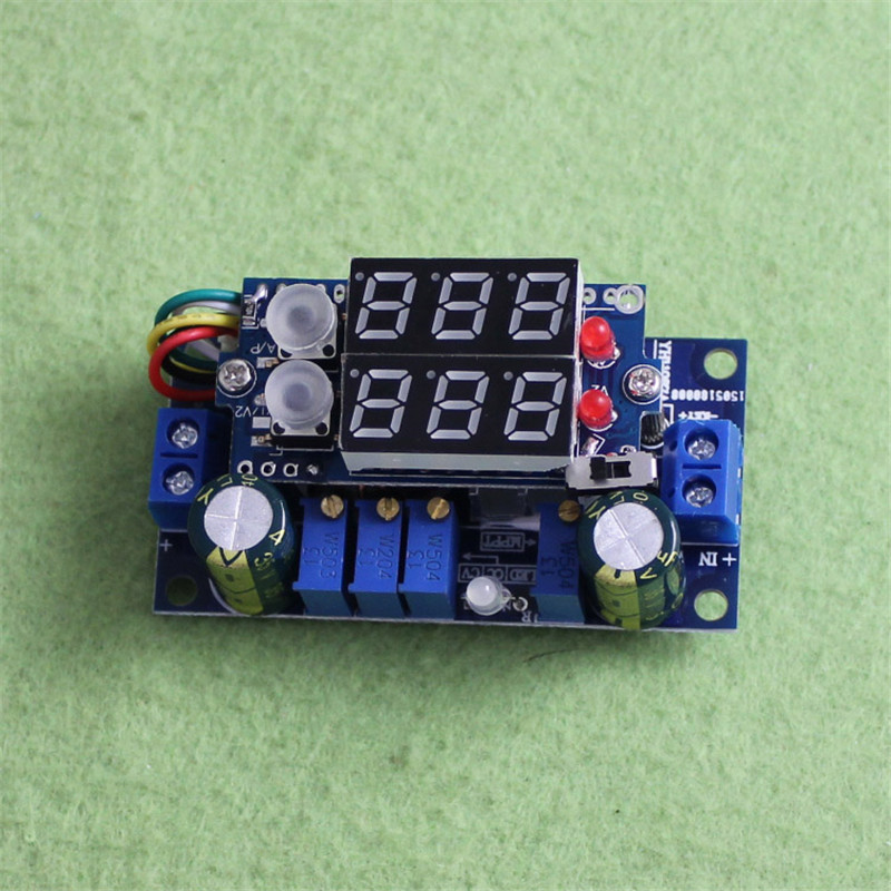 MPPT Solar Controller 5A DC-DC Step-down Module Digital CC CV Battery Charging 5pcs lot ti tps51117 51117 qfn step down controller