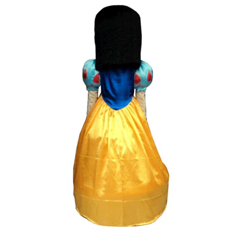 2014 isti satış! Yüksək keyfiyyətli Qar Ağ maskot kostyumu - Karnaval kostyumlar - Fotoqrafiya 3