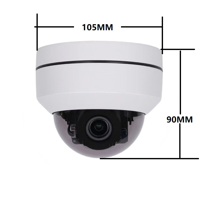 4in1 CVI TVI CVBS AHD 1080P 5x Zoom Mini PTZ Camera IR Outdoor Full HD 2 0MP 5MP Auto Focus Zoom 2 7 13 5mm Varifocal ptz cam in Surveillance Cameras from Security Protection