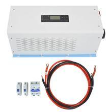Чистая медь кабель Инвертор Чистая синусоида Мощность Частота солнечный инвертор зарядное устройство 3000 Вт 48VDC вход 200VAC выход