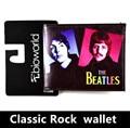 Clássico Rock and Roll orquestra pessoas bolsa Beatles armas e rosas de ferro homem dos desenhos animados carteira