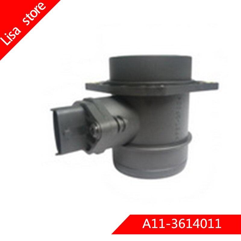 Capteur de débit d'air pour Chery Tiggo A15 T11 forums A21 SUV amulette 1.8 2.0 16V AWD OEM: 280218166 A11-3614011 A113614011