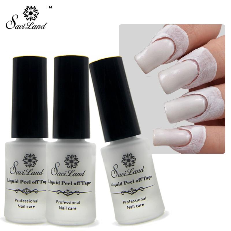 Aliexpress Saviland 1pcs Finger Skin Protected Glue Tear Cream Nail White L Off Liquid Palisade Art Tape Latex From Reliable