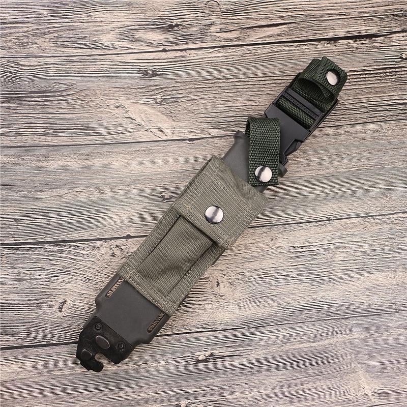 Acheter M9 D80 Droite Couteau Gaine Couverture Réel Oxford nylon douille de couteau Outils Portable En Plein Air Outil de Outil Sacs fiable fournisseurs