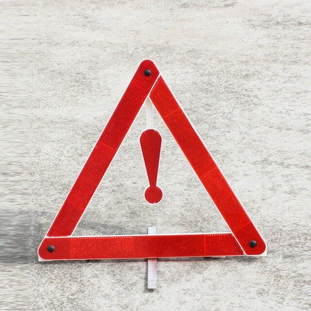 Car Rear Warning Board Stop Reflective Emergency Warning Tripod