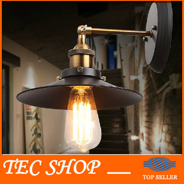 Best Price JH American Country Style Retro Wall Lamp Industrial Warehouse Aisle Vintage Wall Lamp Iron Balcony Bar Wall Lamp american country style industrial wall lamp retro bar bedroom pulley light fixtures stairs wall lamp