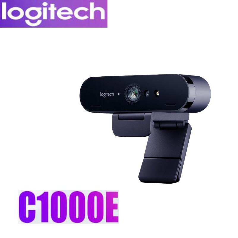 Logitech C1000e BRIO 4K Webcam WideAngle Ultra HD1080p Video Conferencing Camera