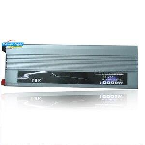 Image 5 - Inversor de potencia automático para coche, 10000 W, 10000 vatios, onda sinusoidal pura de cc 12v 24v a CA 220v 110v, Adaptador convertidor con cargador USB