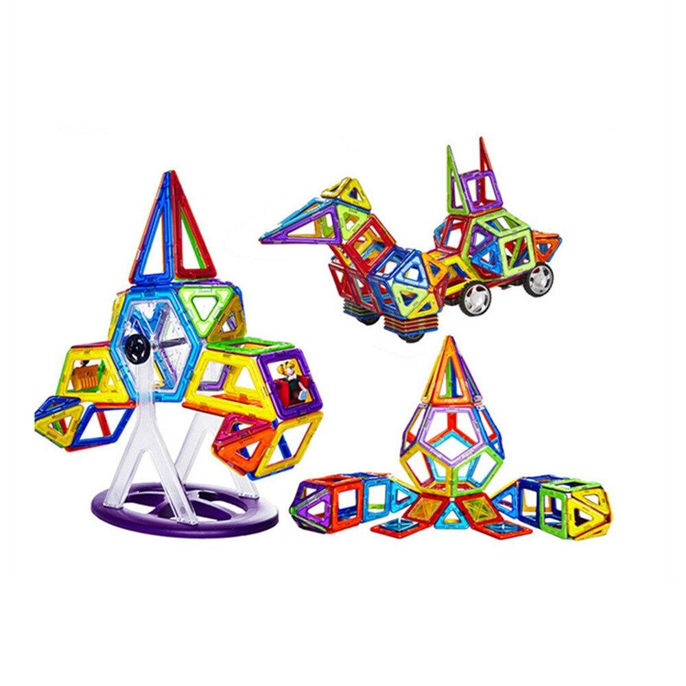 66 pièces Blocs de Grande Taille De Construction Modèle Jouet de Construction En Plastique Blocs Magnétiques Jouets Éducatifs Pour Enfants Cadeau-in Blocs from Jeux et loisirs    2