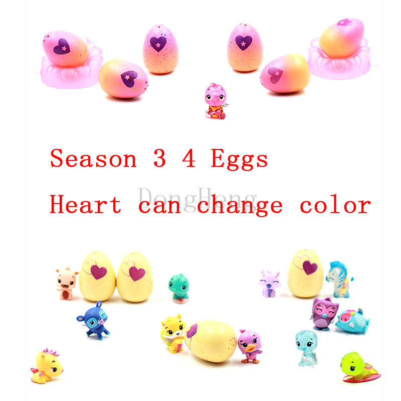 2018 Magic Hatching 4 Pack Surprise Hatchi Eggs Hatchable Egg 4Pack + Bonus Surprise Doll Toy Animal Egg Mini Cartoon For Kids2018 Magic Hatching 4 Pack Surprise Hatchi Eggs Hatchable Egg 4Pack + Bonus Surprise Doll Toy Animal Egg Mini Cartoon For Kids