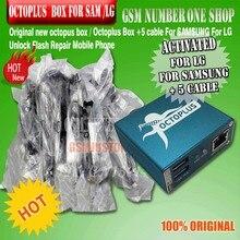 صندوق الأخطبوط/صندوق Octoplus تنشيط كامل لشركة إل جي وسامسونج بما في ذلك 5 كابلات فتح فلاش وريبا
