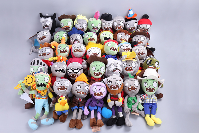 27 Styles Plants vs Zombies Plush Toys 30cm Plants vs Zombies Soft Stuffed Plush Toys Doll Baby Toy for Kids Gifts Party Toys ocean creatures plush crab cushion doll cute stuffed simulative toys for baby kids birthdays gifts 27 23cm 10 5 9