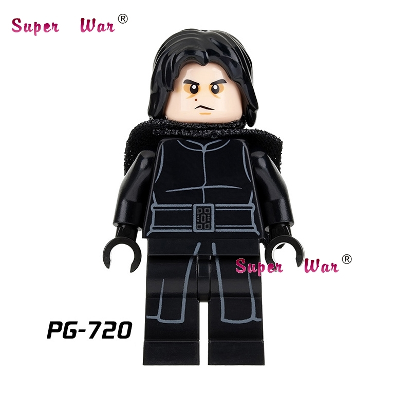 Single star wars super heroes marvel dc comics Kylo Ren Ben Solo building blocks models bricks toys for children kits redecker