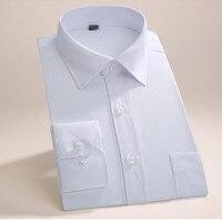 Tailor Made Men Shirt Long Sleeve Wedding Tuxedo Shirt Simple Fashion Good Quality Groom Best Man