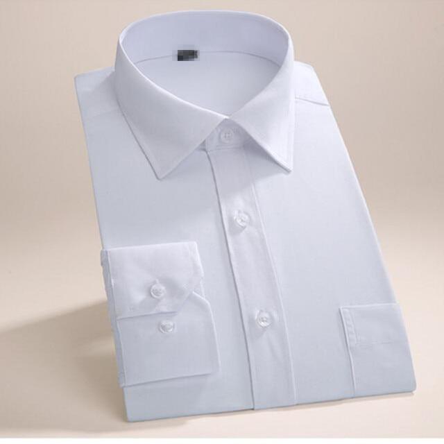 Maßgeschneiderte männer langarm shirt hochzeit smokinghemd einfache ...