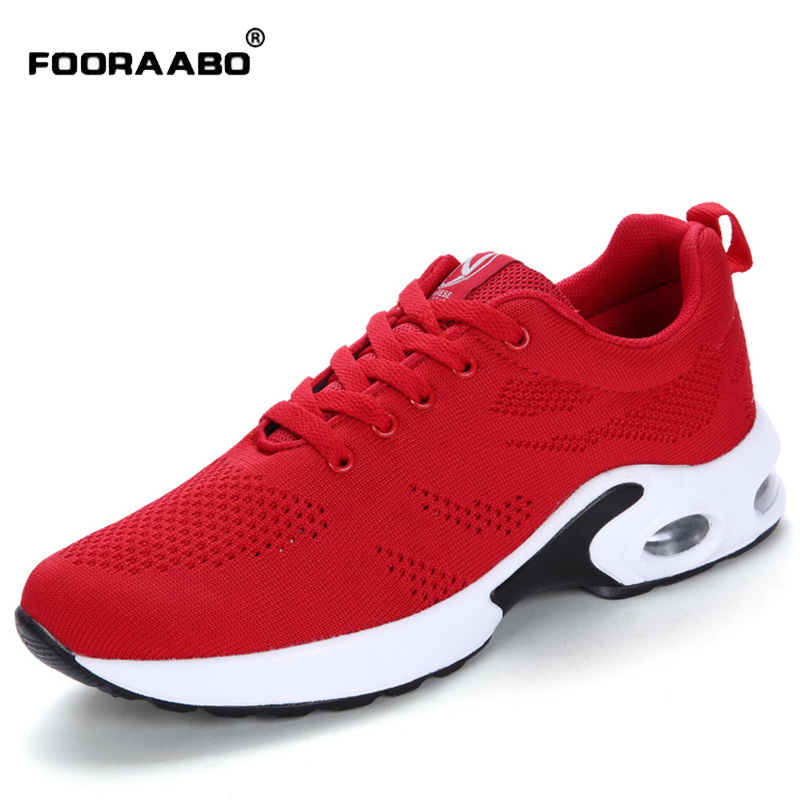 FOORAABO 2017 New Hot Sale Women's Casual Shoes Fashion Brand Breathable Autumn Girl Classic Walking Women Shoes Zapatos Mujer