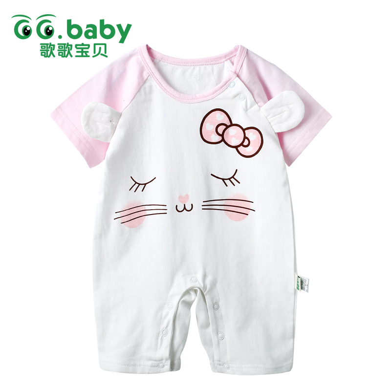 Newborn Baby Girls Romper Clothing Children Infant Baby Kids Boys Cartoon Rompers Overalls Baby Boy Girl Romper Jumpsuit Romper cute baby girl ruffles romper newborn children hello kitty playsuit clothing infant kids girls cartoon jumpsuit clothes with hat