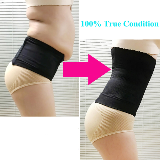 97c894bcb5 Women belt Bandage for Pregnant Belly Belt High Waist Body Shaper Thin Waist  Trainer Slimming Belt Corset Tummy Trimmer control
