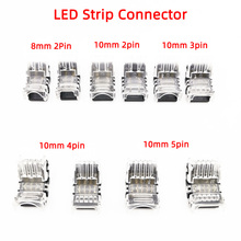 5pcs lot 2 3 4pin 5pin led strip connector for single rgb rgbw color 3528 5050 led strip to wire connection use terminals pn35 10pcs/lot 2pin 3pin 4pin 5pin LED Strip Connector for 3528 5050 led Strip to Wire or Strip to Strip Connection Use Terminals
