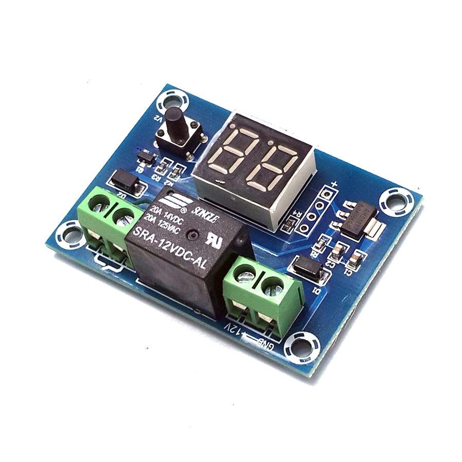 Ehrlichkeit 1-60 Minuten/1-24 H Countdown-timer Modul Digital Timer Angetrieben Durch 12 V Dc Weniger Teuer Messung Und Analyse Instrumente