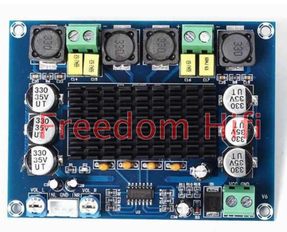 Недавно TPA3116D2 двухканальный стерео высокого Мощность цифровой аудио Мощность Плата усилителя 2x120 W XH-M543