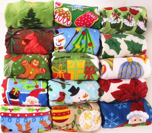 Mix größe Weihnachten Bilder Baumwolle Handtuch Velours Gedruckt ...