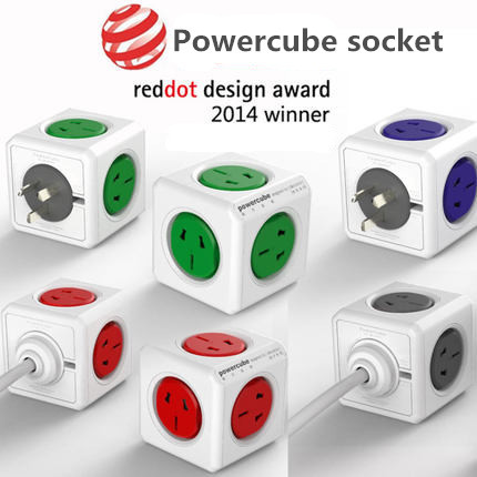 все цены на Allocacoc Extended PowerCube Socket EU DE Plug 4 Outlets Adapter Dual Usb Socket Charger with 1.5m Cable Extension,Smart Home онлайн