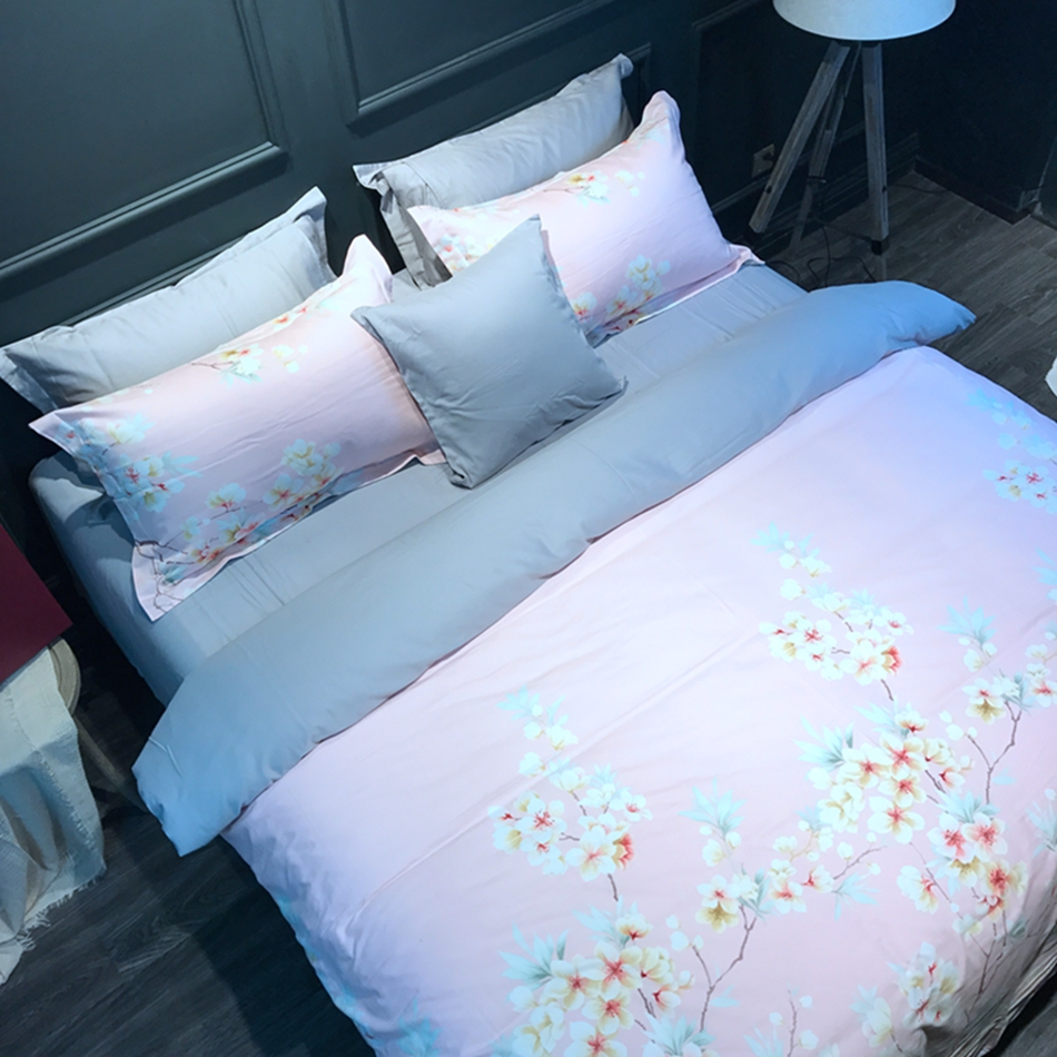 online get cheap cool duvet aliexpresscom  alibaba group - cool kids single bedding set cotton duvet cover floral bed sheetpillowcases satin brushed fabric winter
