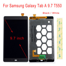 цена на Starde Replacement LCD For Samsung Galaxy Tab A 9.7 SM-T550 T555 T550 LCD Display Touch Screen Digitizer Assembly with Free Tool