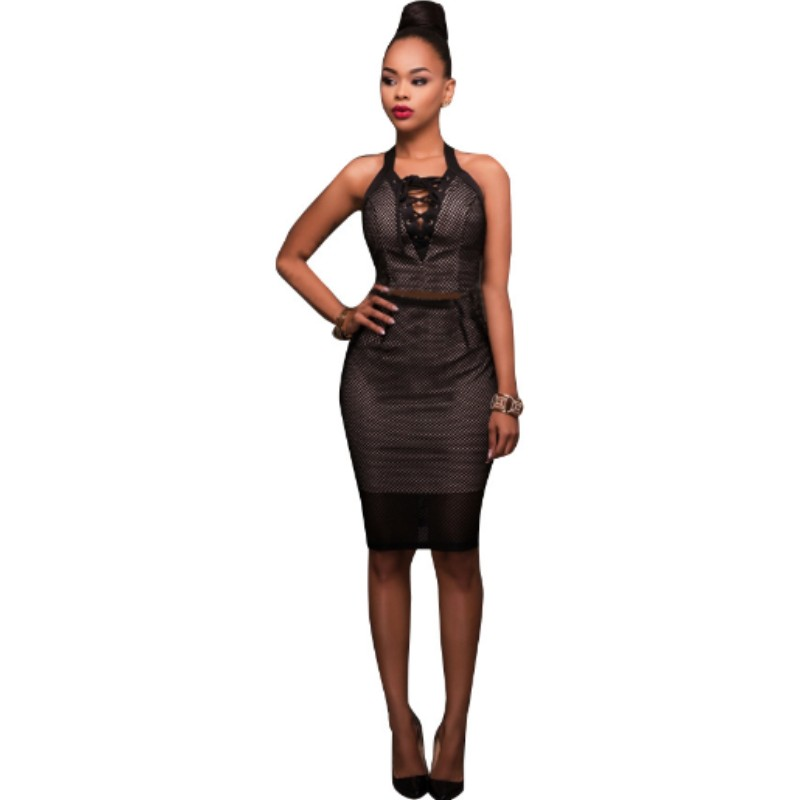 Pink black bodycon mesh summer dress 2017 hot selling products online clothing store women sexy nightclub